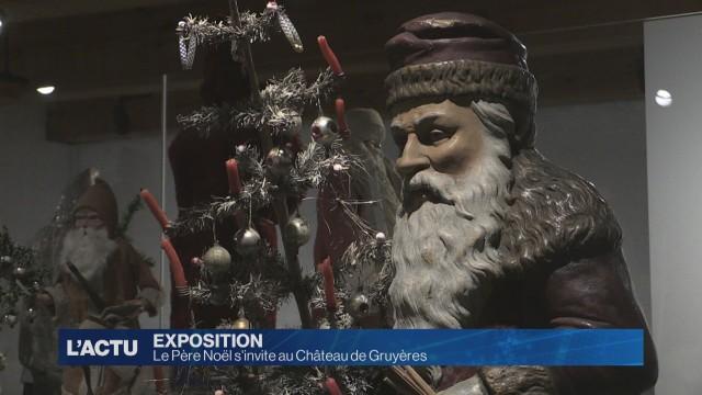 Le Père Noël s'invite au Château de Gruyères