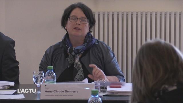 Anne-Claude Demierre à la tête de l'HFR