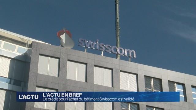 Feu vert pour l'achat du bâtiment Swisscom à Fribourg