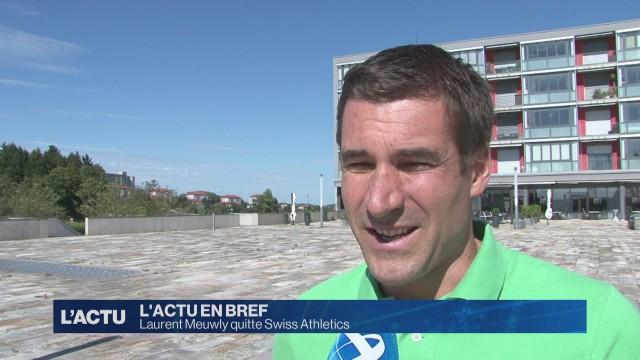 Laurent Meuwly quitte Swiss Athletics