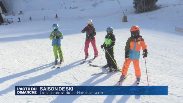 La station de ski du Lac noir est ouverte