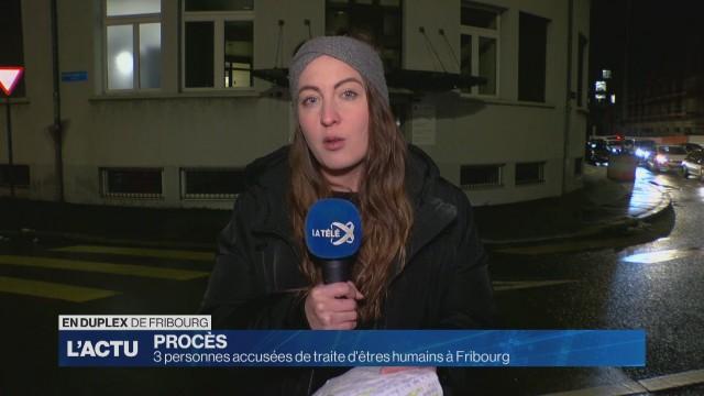 3 personnes accusées de traite d'êtres humains à Fribourg