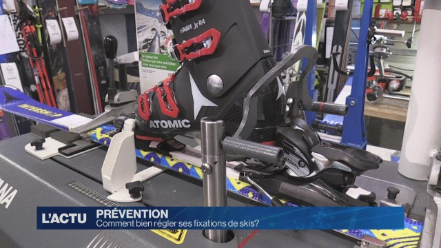 Comment bien régler ses fixations de skis ?