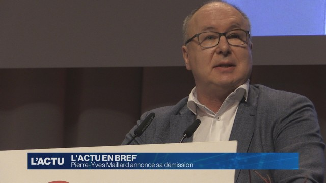 Pierre-Yves Maillard annonce sa démission