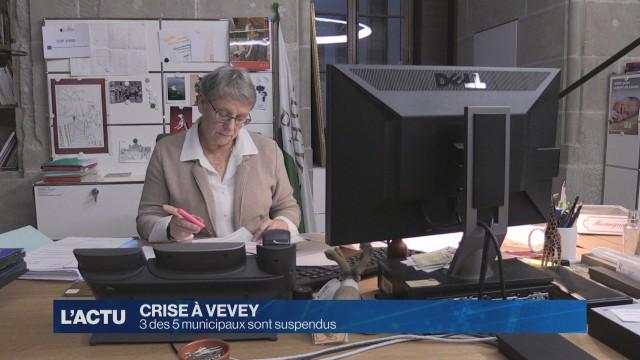 Crise à Vevey : 3 des 5 Municipaux sont suspendus