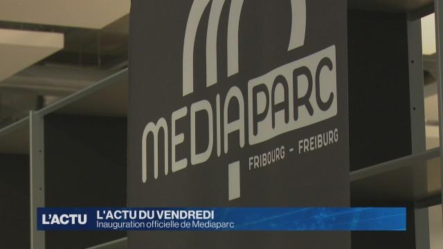Inauguration de MEDIAParc