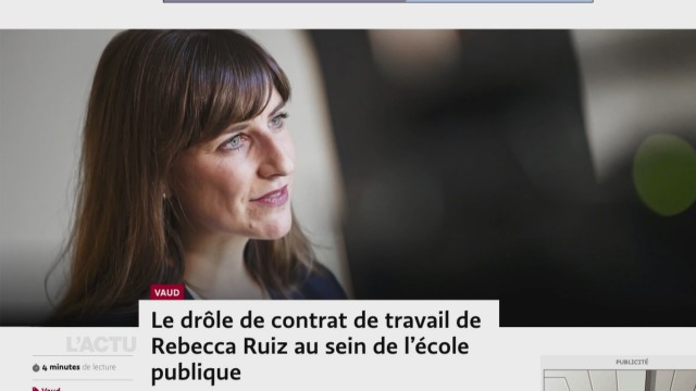 Le contrat de Rebecca Ruiz en question