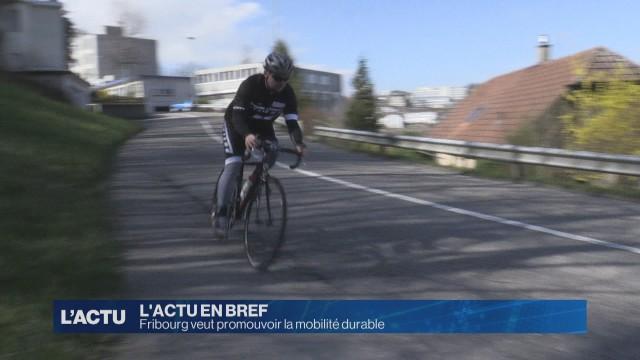Fribourg veut promouvoir la mobilité durable
