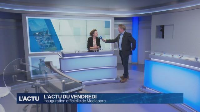 Inauguration officielle de Mediaparc à Villars-sur-Glâne