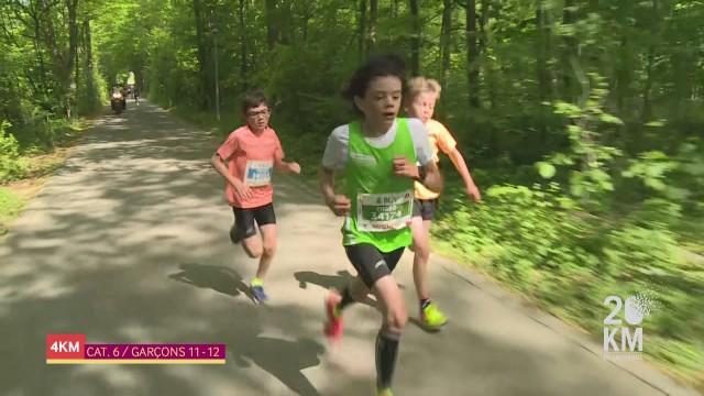 20KM - Garçons 11-12 - Courir pour le plaisir