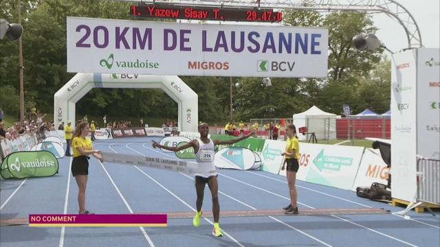 Les meilleurs moments des 10 Km et 20 Km de Lausanne