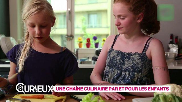 Une chaîne culinaire par et pour les enfants