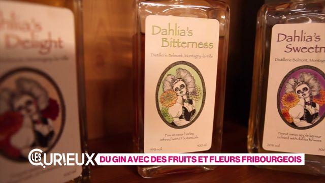 Du gin aux fruits et fleurs fribourgeois