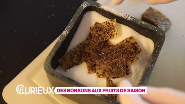 Des bonbons aux fruits de saison