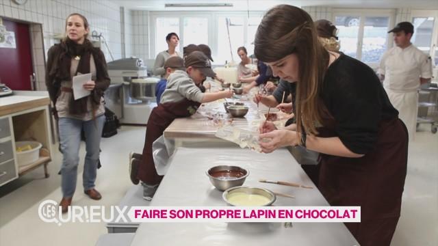 Faire son propre lapin en chocolat
