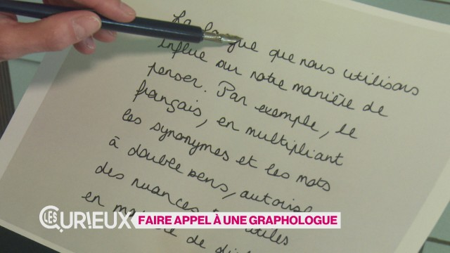 Faire appel à une graphologue