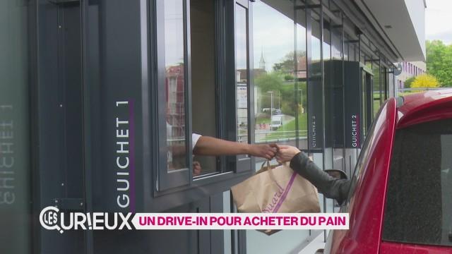 Un drive-in pour acheter du pain