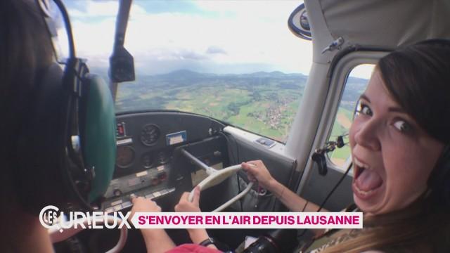 S'envoyer en l'air depuis Lausanne