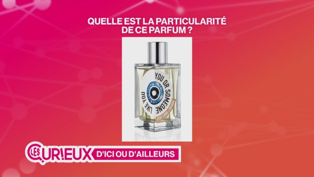 Un parfum à base de déchets