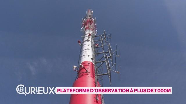 Plateforme d'observation à plus de 1'000m
