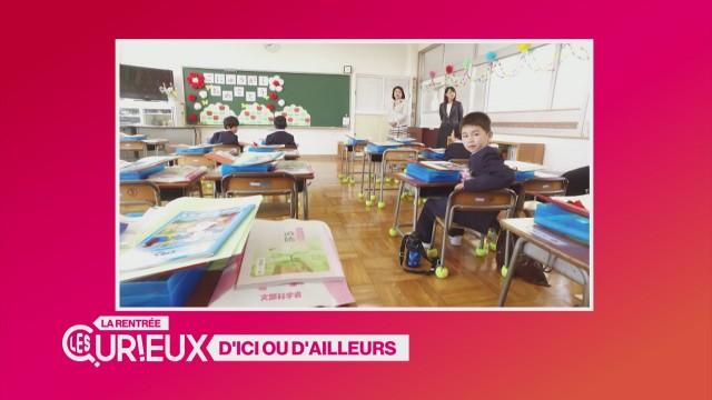 Les écoliers japonais ne chôment pas