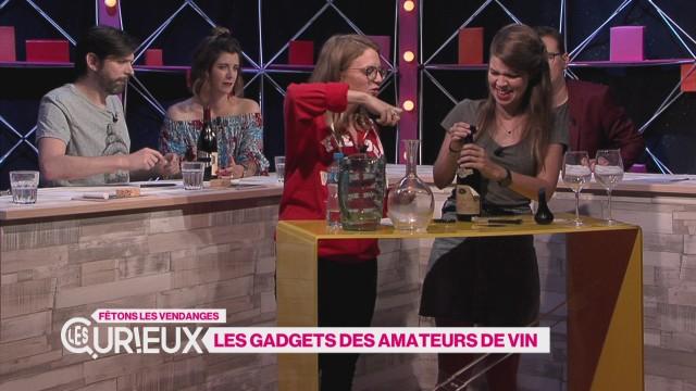 Des Gadgets pour les amateurs de vin