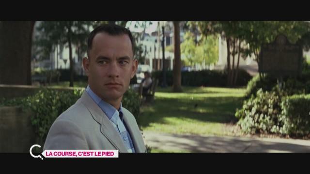 Anja fait la course avec Tom Hanks