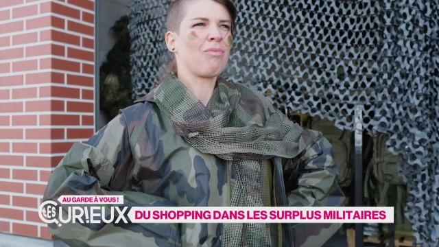 Du shooping dans les surplus militaires