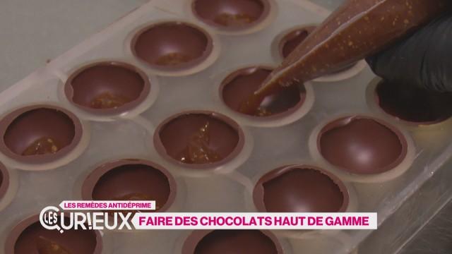 Faire des chocolats haut de gamme
