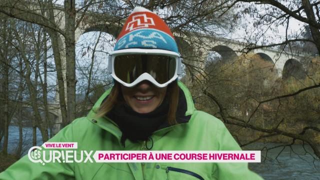 Participer à une course hivernale