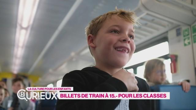 Billets de train à 15.- pour les classes