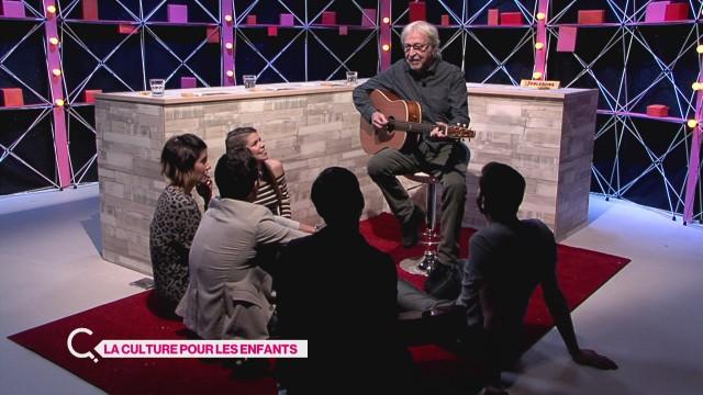 Henri Dès vient chanter pour Les Curieux
