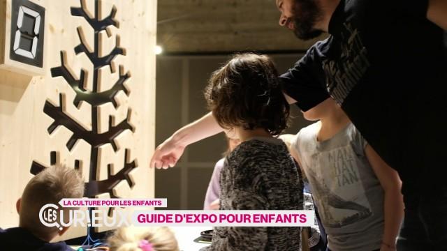 Devenir guide d'une expo pour les enfants