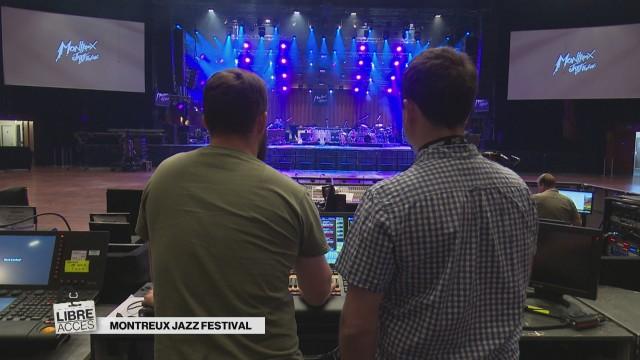 Dans les coulisses du Montreux Jazz Festival