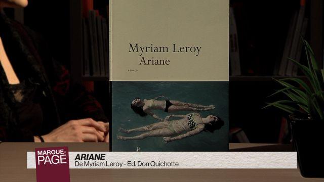 Marque-page - Ariane