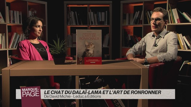Le chat du Dalaï-Lama et l'art de ronronner