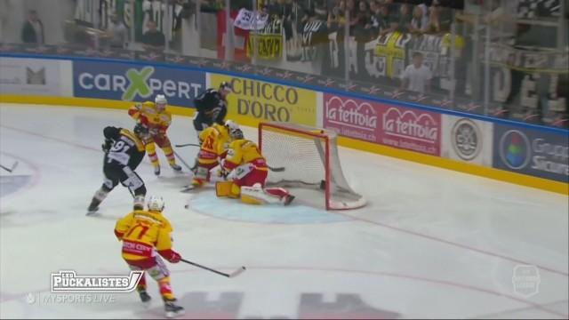 Le HC Lugano s'impose dans la série contre Bienne