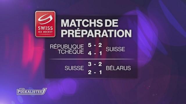 La Suisse a battu la Biélorussie 2-1 à Malley