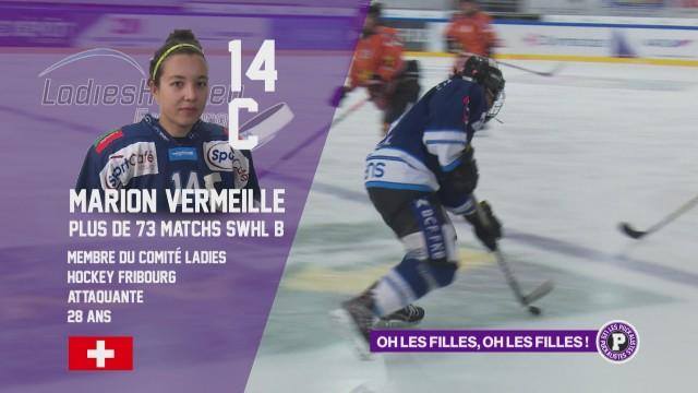Le hockey féminin à la une des Puckalistes