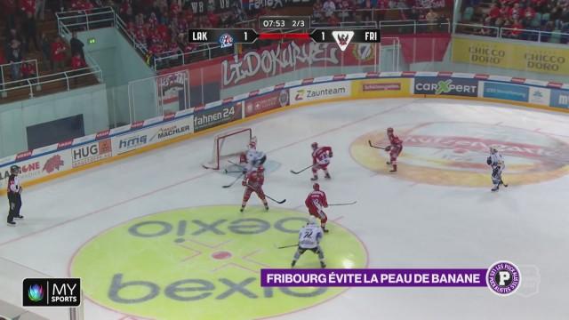 Victoire de Fribourg-Gottéron face à Rapperswil