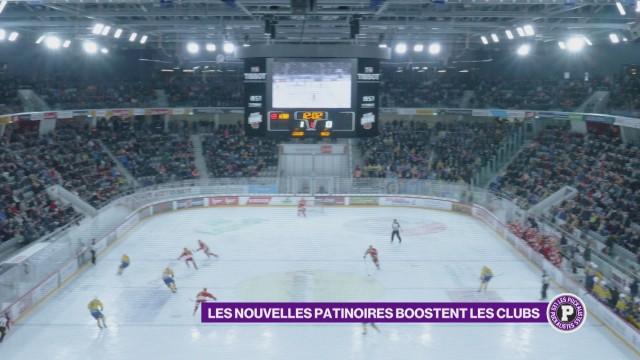 Les nouvelles patinoires boostent les clubs
