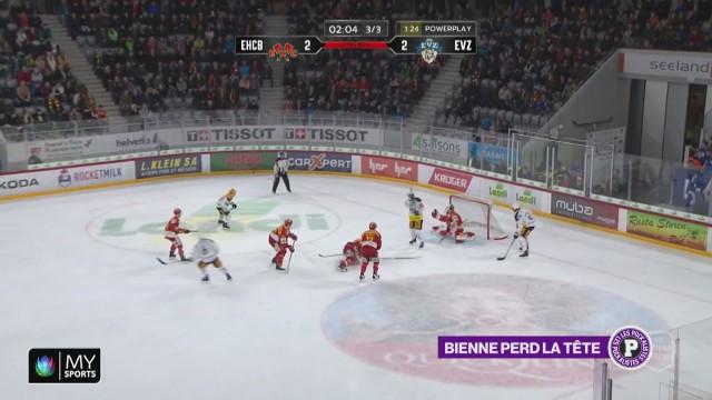 Le HC Bienne perd la tête