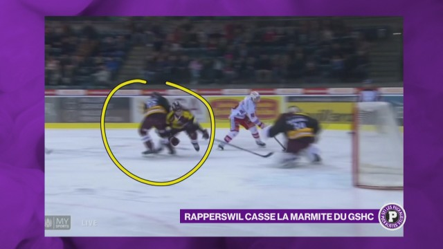 Genève s'incline contre Rapperswil
