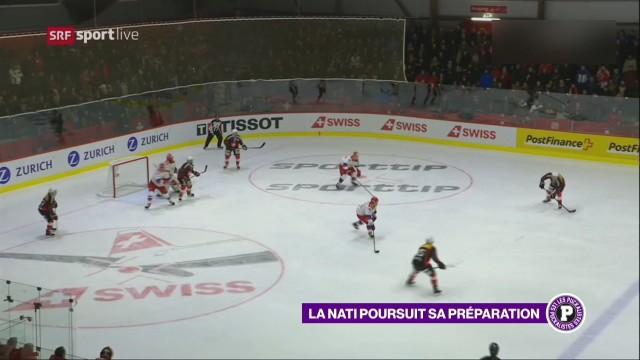 L'équipe de Suisse est à Lucerne