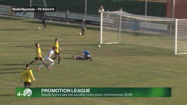 Stade Nyonnais gagne pour commencer 2018