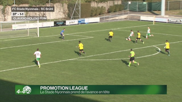 Le Stade Nyonnais prend de l'avance en tête