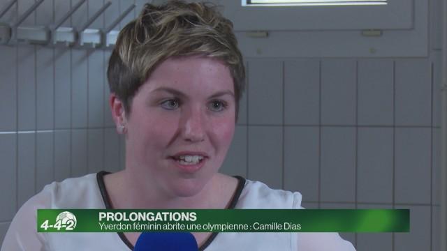 Yverdon féminin abrite une olympienne : Camille Dias