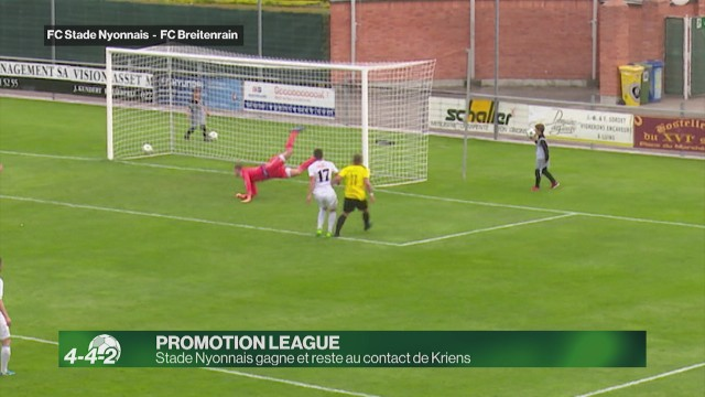 Stade Nyonnais gagne 5-1 contre Breitenrain