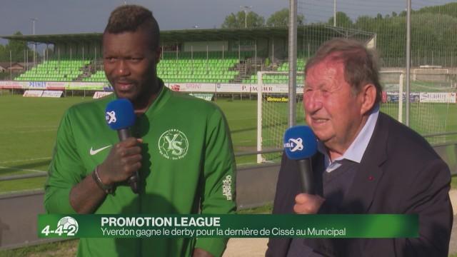 Yverdon gagne pour le dernier match de Cissé au Municipal