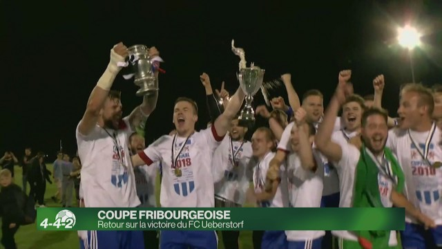 Retour sur la victoire d'Ueberstorf en coupe fribourgeoise
